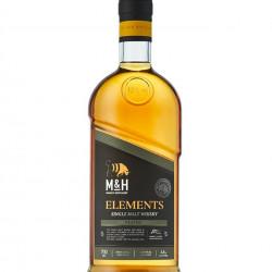 Milk & Honey Elements Peated Cask - whisky d'Israël