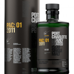 Port Charlotte PAC 01 2011 - Whisky d'Islay 56,1%