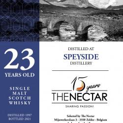 Speyside Distillery  23 ans...