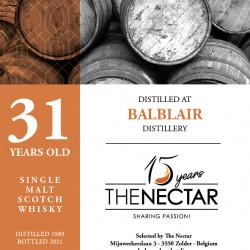 Balblair 31 ans 1989 - The...