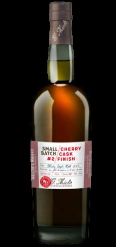 Whisky Miclo |Cherry Cask #2 Double maturation en ex fûts de cerise à l'eau...
