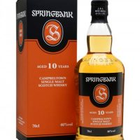 Whisky Springbank 10 ans