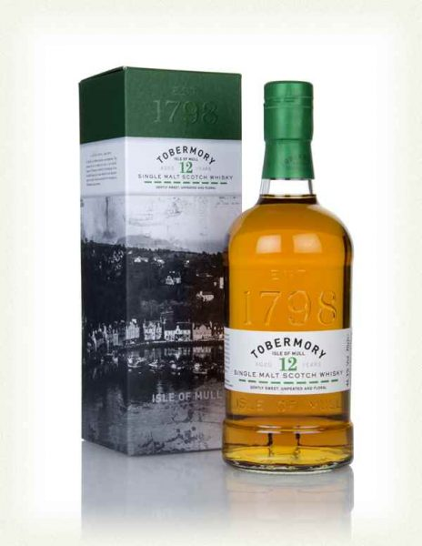 Whisky Isle Of Mull Tobermory 12 ans 46,3%