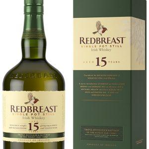 Whisky Irlandais Redbreast 15 ans pur pot still 46%
