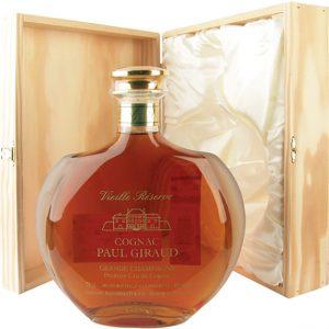 Cognac Paul Giraud Vieille Reserve Carafe 25 ans