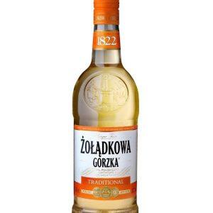 Vodka de pologne ZOLADKOWA GORZKA Traditional 34%