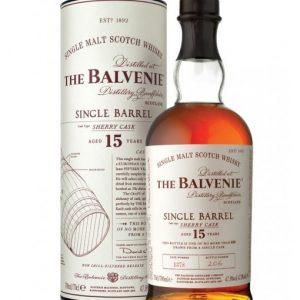 whisky du speyside Balvenie 15 ans single barrel sherry cask 47,8%