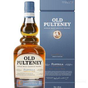 Whisky des Highlands Old Pulteney Flotilla