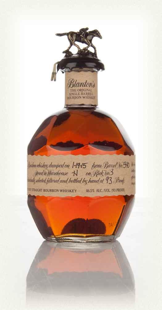 Blanton 39 s single barrel bourbon au jardin vouvrillon for Le jardin vouvrillon