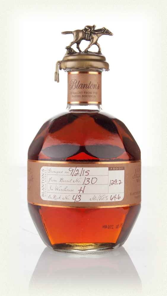BLANTON'S STRAIGHT FROM THE BARREL 64,8%