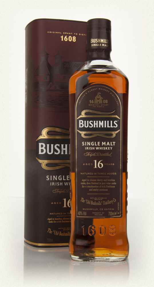 Bushmills 16 ans three woods 40 au jardin vouvrillon for Jardin vouvrillon
