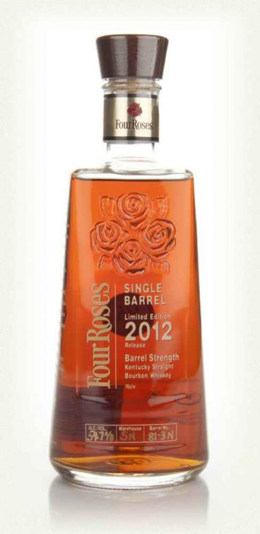Four roses single barrel 2012 limited au jardin vouvrillon for Jardin vouvrillon