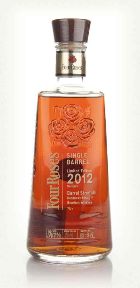 FOUR ROSES SINGLE BARREL 2012 LIMITED 51,9%