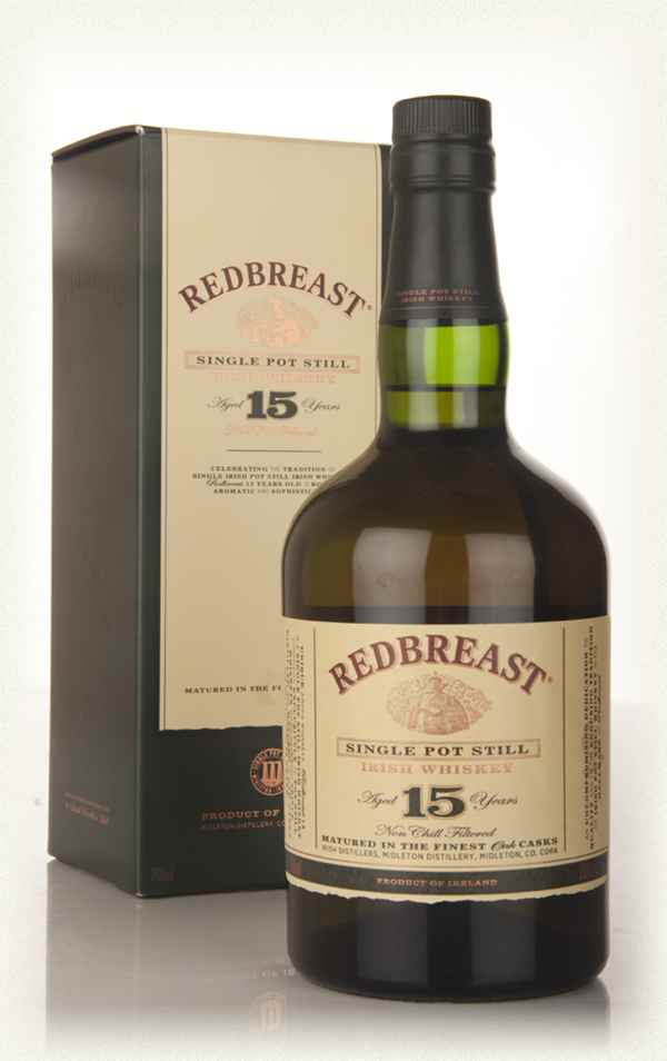 Whisky redbreast 15 ans