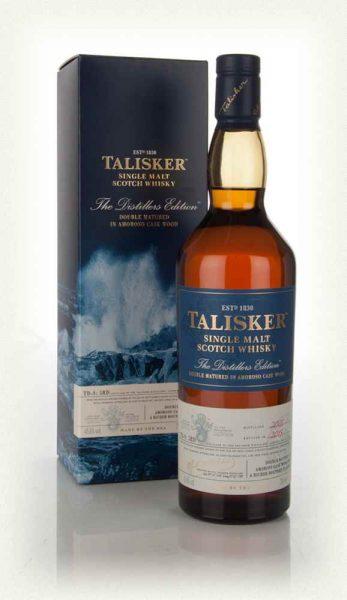 whisky talisker distillers edition