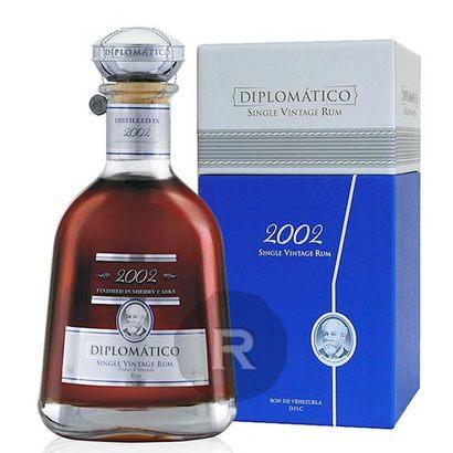 rhum diplomatico 2002