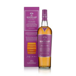 whisky du Speydise Macallan Edition N°5