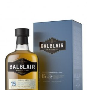Whisky des Highlands Balblair 15 ans 46%