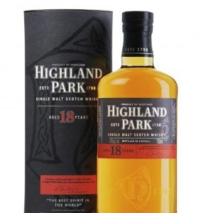 Whisky highland park 18 ans