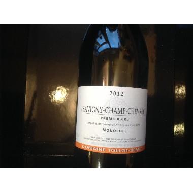 Savigny champ gevrey 1er cru tollot beaut 2012 au jardin for Jardin vouvrillon