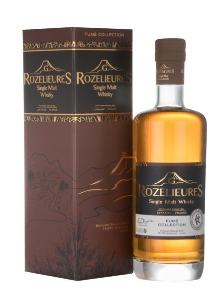 whisky Lorrain Rozelieures Collection Fumée
