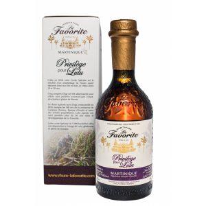 rhum agricole de martinique La Favorite Privilège pour Lulu 45%