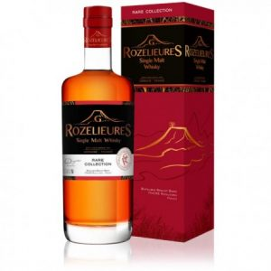 Whisky Rozelieures rare collection sauterne