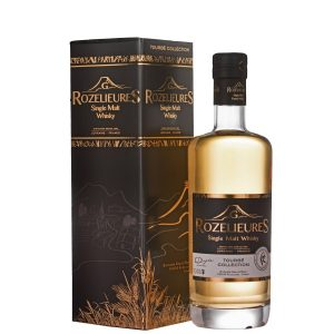 whisky Rozelieures collection tourbe