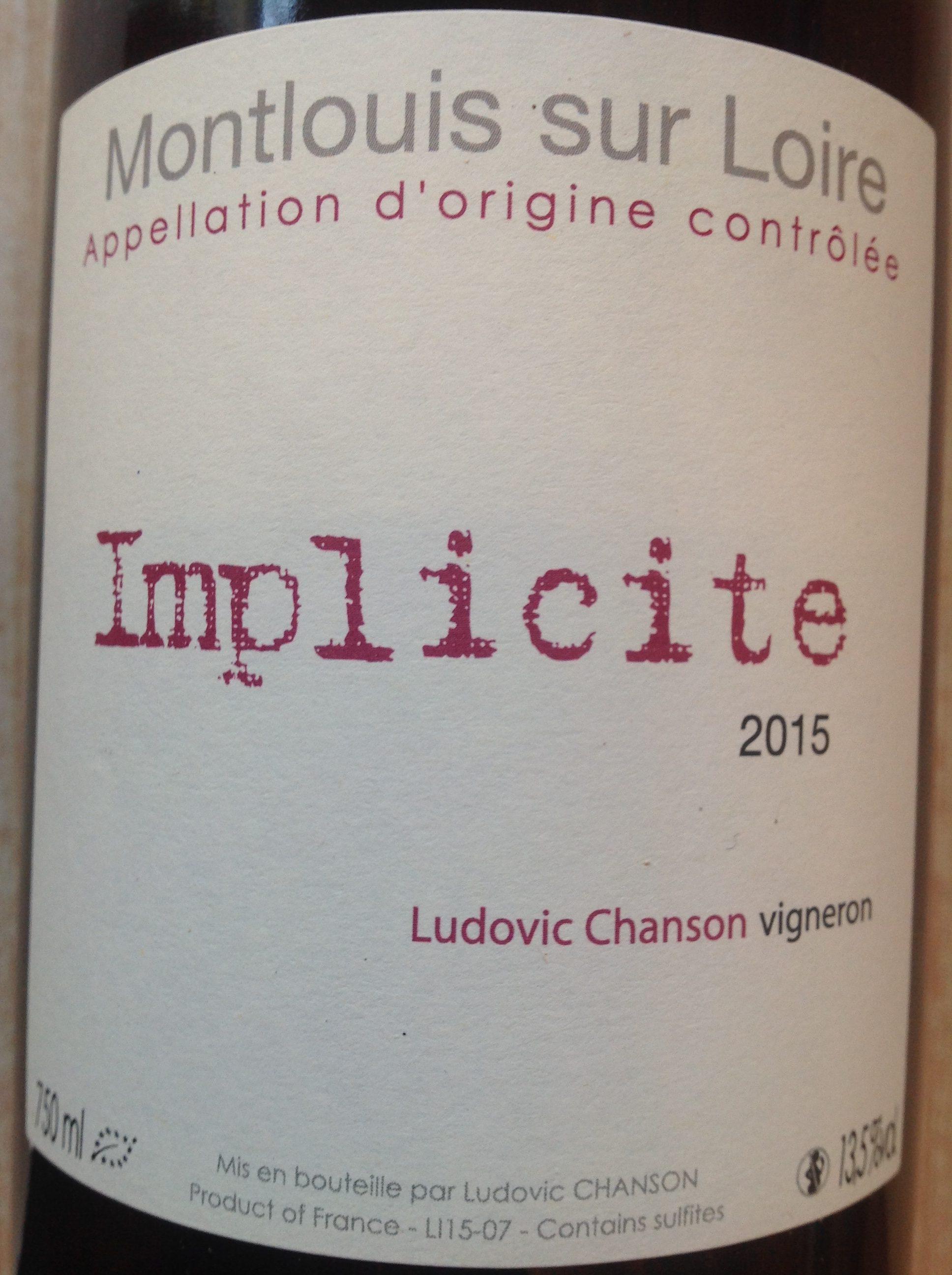 Montlouis implicite 2015 ludovic chanson au jardin for Jardin vouvrillon