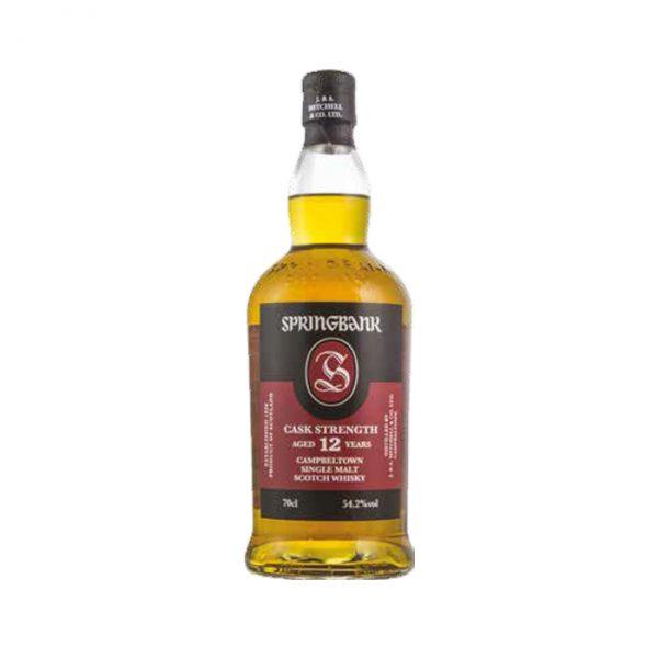 Whisky Springbank 12 ans brut de fut