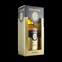 whisky d'Ecosse Campbeltown Springbank 21 ans single cask 48,2% limité à 342 bouteilles