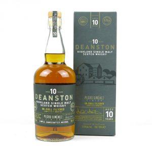 Whisky deanston pedro ximenez