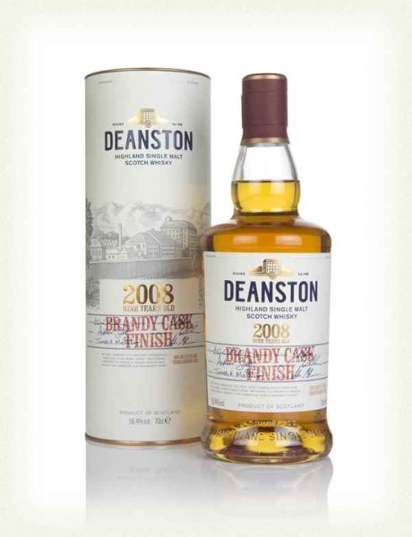 whisky Deanston 2008 brandy finish 9 ans