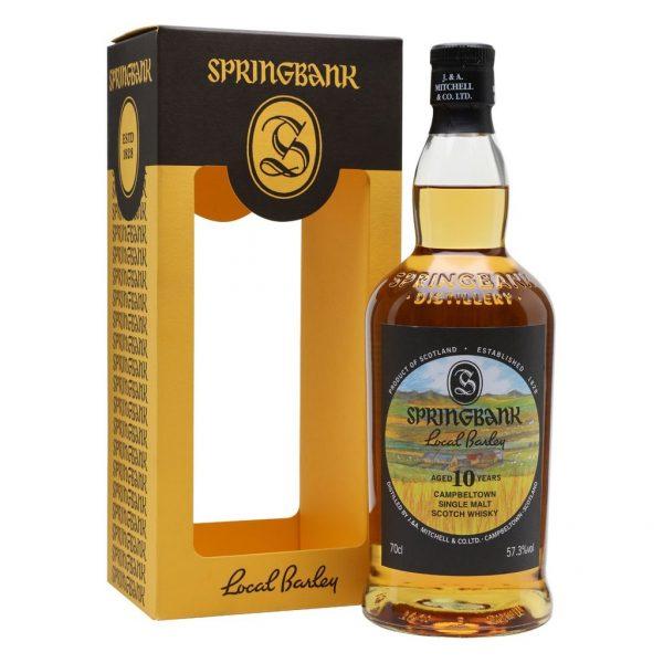 whisky springbok local barley 10 ans
