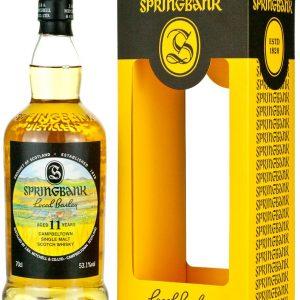 whisky springbok local barley 11 ans