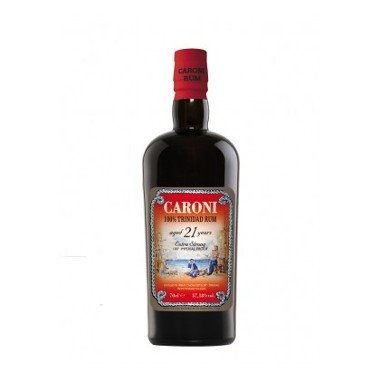 CARONI 21 ANS RHUM 57,2%