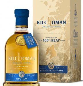 Whisky d'islay kilchoman 100% islay 9th edition