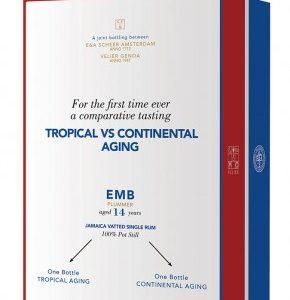 Rhum de Jamaïque SVM Coffret 2 Bouteilles EMB Blend Plummer