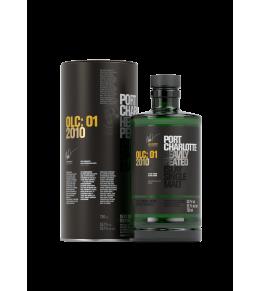 distillerie Bruichladdich Port Charlotte OLC : 01 2010 - whisky d'Islay 55,1%