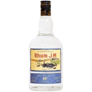 Rhum jm blanc 40%