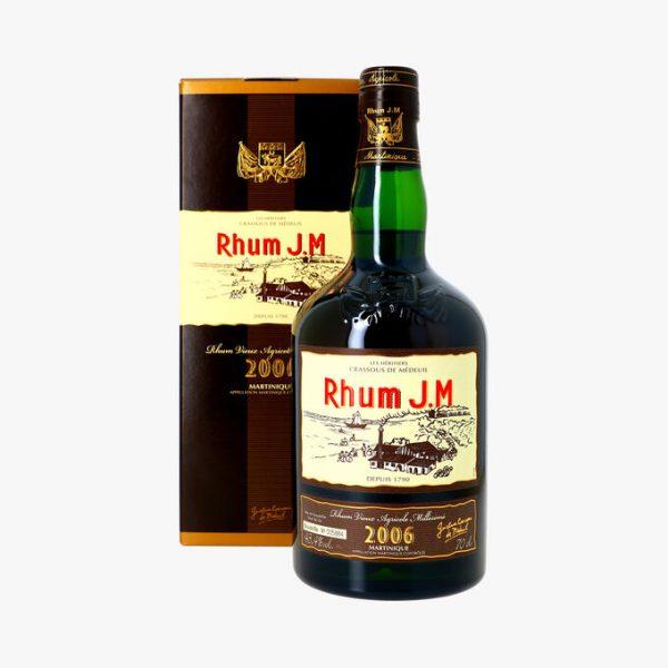 Rhum Agricole de Martinuque JM 2006 brut de fût 43,4%