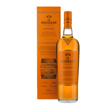 whisky macallan edition n°2