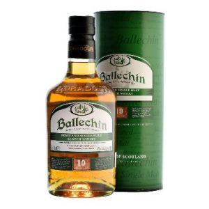 BALLECHIN 10 ANS - WHISKY DES HIGHLANDS