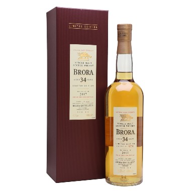 whisky brora 34 ans