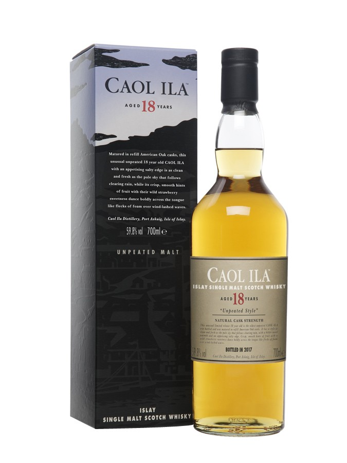 Caol ila 18 ans unpeated whisky d 39 islay au jardin for Jardin vouvrillon
