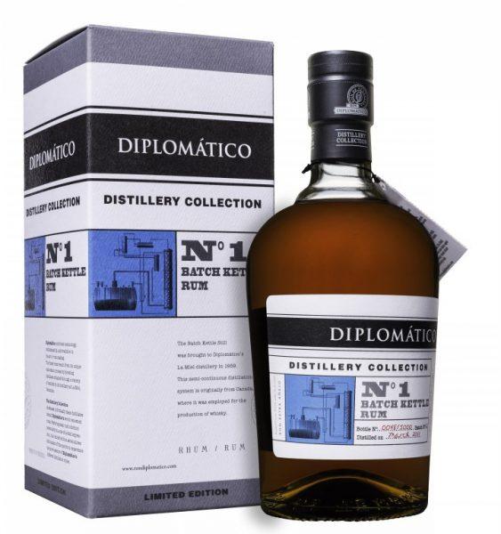 Rhum diplomatico batch kettle rum