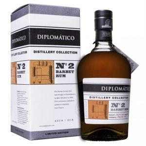 rhum diplomatico N°2 barbet rum