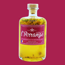 L'Arrangé Ananas & Maracuja - La fabrique de l'arrangé par Tricoche Spirits
