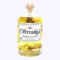 L'Arrangé Ananas Coco - Rhum Arrangé la fabrique de l'Arrangé par Tricoche Spirits