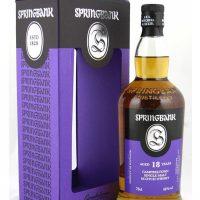 whisky de Campbeltown Springbank 18 ans 46%